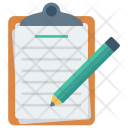 Draft Note Clipboard Icon