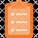Note Paper Report Icon