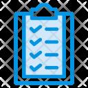 Clipboard Checklist Form Icon