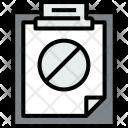 Clipboard Error File Icon