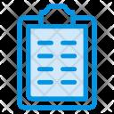 Clipboard Paper Document Icon