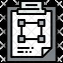 Clipboard Graphic File Icon