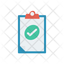 Clipboard Tick Document Icon