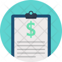 Clipboard File Notepad Icon