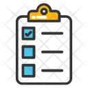 Agenda List Checklist Icon