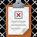 Block Fail Test Icon