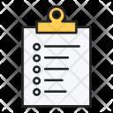Clipboard Documents Loan Icon
