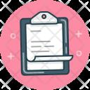 Clipboard Note Book Icon