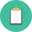 Clipboard Document Sheet Icon