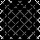 Clipboard Music File Icon