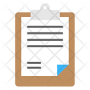 List Clipboard Notes Icon