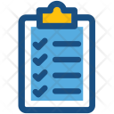 Clipboard Checklist Memo Icon