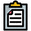 Clipboard Paperwork Document Icon