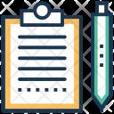 List Clipboard Plan Icon