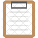Clipboard Note Report Icon