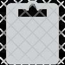 Clipboard Report Blank Icon