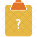Question Paper Pad Icon