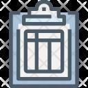 Online Clipboard Invoice Icon