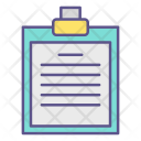 Clipboard Office Documents Icon