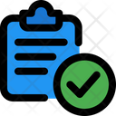 Clipboard Check Document Clipboard Icon