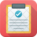 Clipboard List Checked Icon