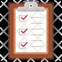 Clipboard checklist Icon