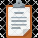Clipboard document Icon