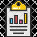 Clipboard Graph Icon