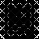 Clipboard Growth Icon