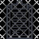 Clipboard List Icon