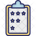 Clipboard Performance Rating Icon