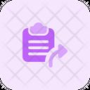 Clipboard Send Send File File Send Icon