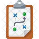Strategy Business Line Icon