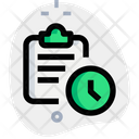 Clipboard Time Icon