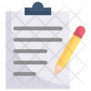 Clipboard Writing Icon