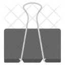 Binder Clipper Fastener Icon
