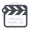 Cinema Clipperboard Play Icon