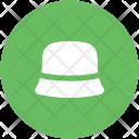 Cloche Hat Bucket Icon
