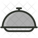 Cloche Dinner Platter Icon