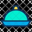 Cloche Plate Dish Icon