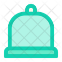 Cloche Tray Cooking Icon