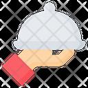 Cloche Tray Food Icon