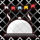 Cloche Tray Server Food Cloche Icon