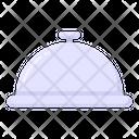 Cloche Food Service Restaurant Icon