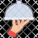 Tray Server Cloche Food Cloche Icon