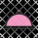 Dinner Cloche Serve Icon