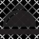 Cloche Covered Dish Icon
