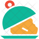 Covered Food Serving Icon