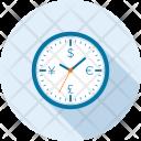 Clock Finance Investment Icon