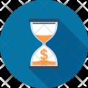 Clock Hourglass Management Icon